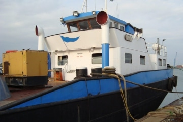 Self Propelled Inland Hopperbarge