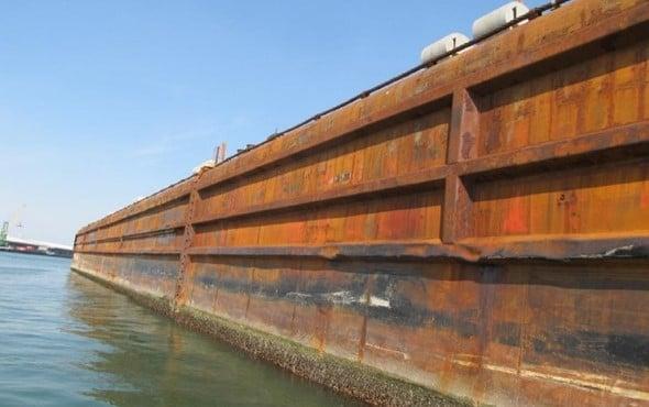 Flattop Cargo Barge