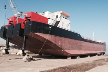 Self Propelled Splithopper Barge