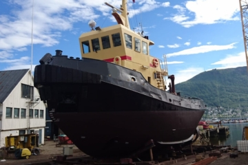 Single Screw Seagoing Tug