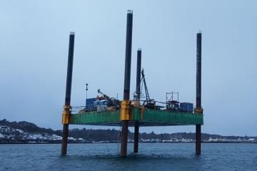 Modular Jack Up Barge