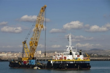 MPP Crane Barge / Oil Recovery & Salvage