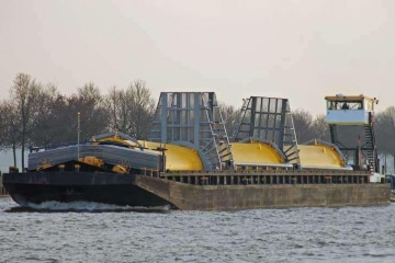 Inland Hopper Barge