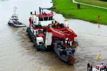 Stationary Cutter Suction Dredger